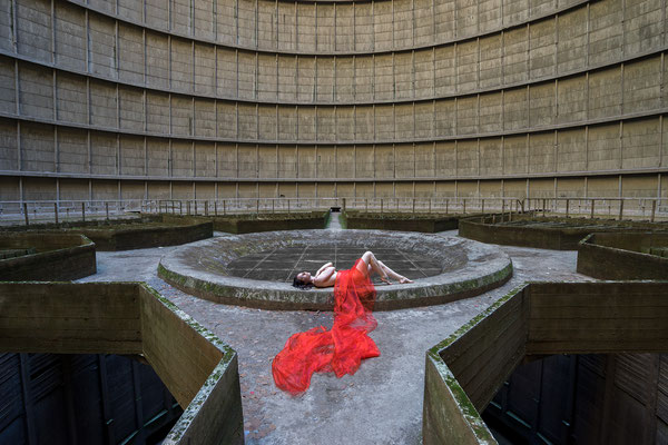 Waiting for your blessing (Cooling tower)