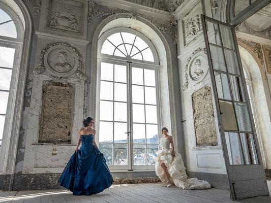 Across the floor (Schloss Glück)