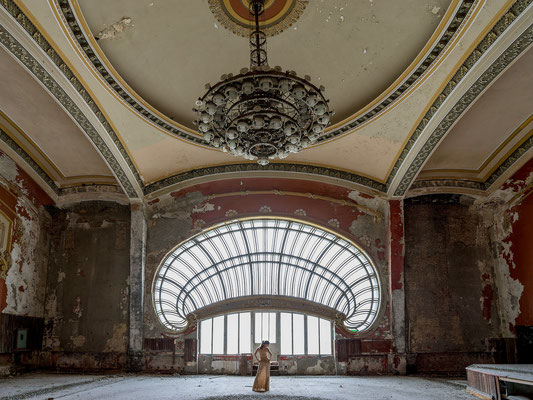 The big hall (Casino Constanta)