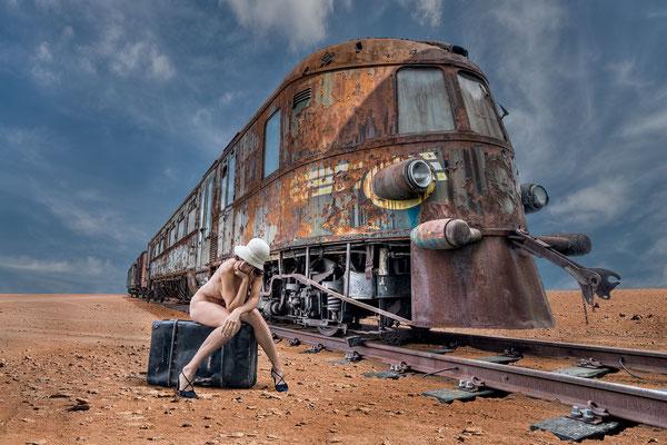 Stranded on the Oriënt Express (desert version)