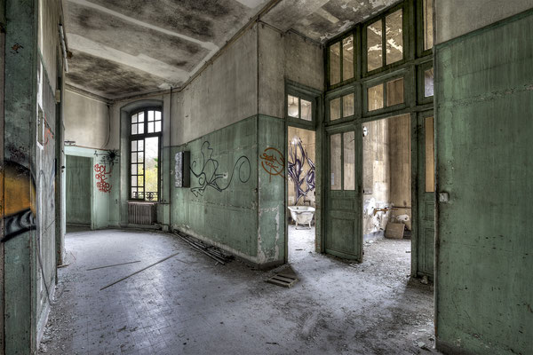 empty place (Sanatorium Dolhain)