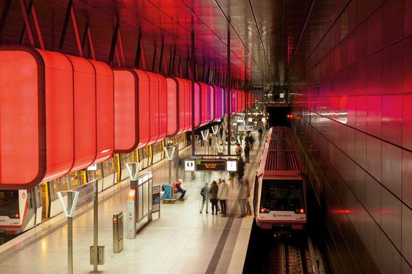U-Bahnhaltestelle HafenCity Universität