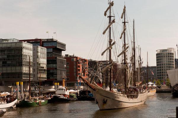 Traditionsschiffhafen, HafenCity