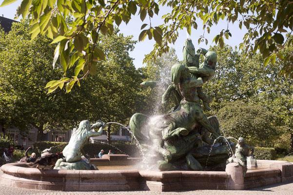 Neptunbrunnen Altona