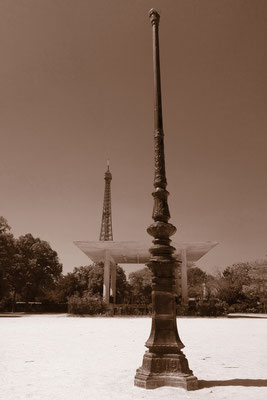 Champ de Mars. Eiffelturm