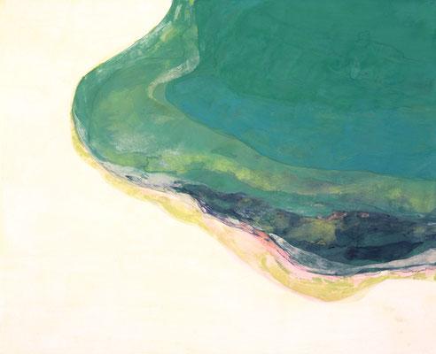 「みずの音」 53×65.2 cm 麻紙・岩絵具 2007年