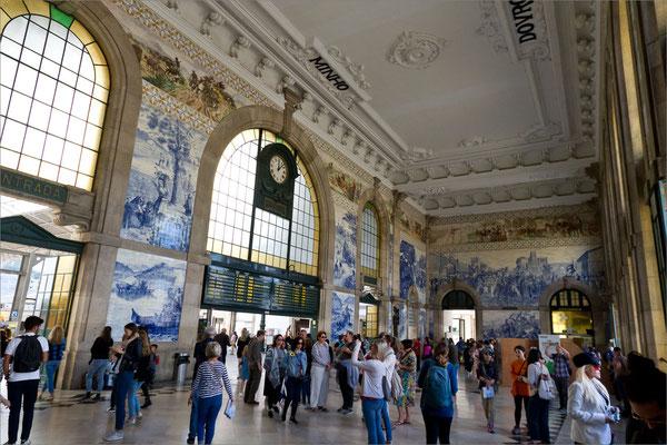Gare de Sao Bento, Porto, Portugal