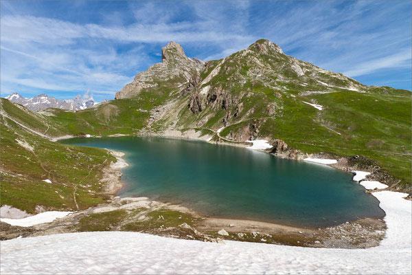 Lac du Grand Ban, Maurienne, France