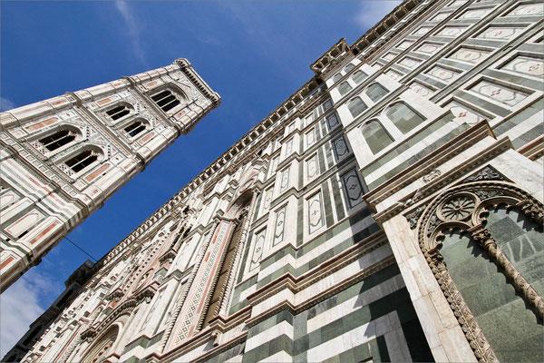 Campanile di Giotto et Duomo Santa Maria del Fiore, Florence, Italie