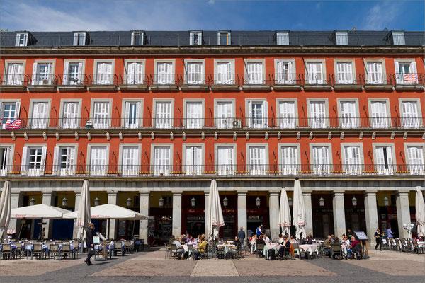 Plaza Mayor, Madrid, Espagne