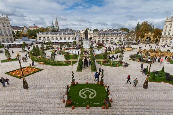 Jardin éphémère Place Stanislas, Nancy, France