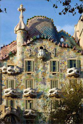 Casa Batlló, Barcelone, Espagne