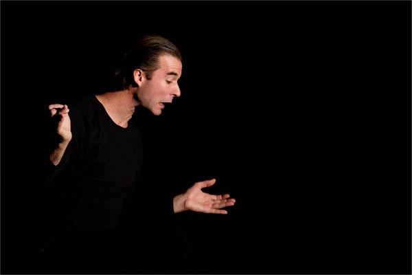 "Nicolas Devort (spectacle ""Dans la peau de Cyrano""), Jarville-la-Malgrange, France"