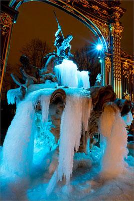 Fontaine de glace Place Stanislas, Nancy, France