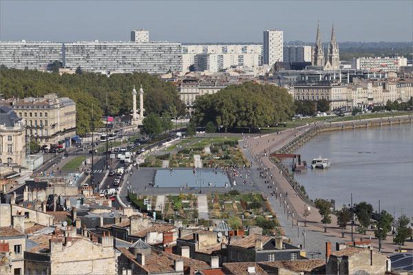 Vue générale, Bordeaux, France