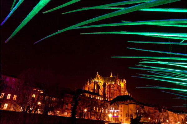 Cathédrale sous les bambous, Metz, France