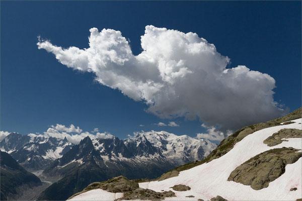 Les aiguilles de Chamonix, Chamonix Mont-Blanc, France