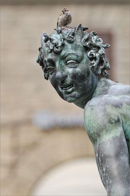 Statue sur la Piazza della Signoria, Florence, Italie