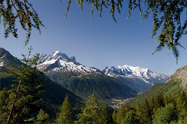 Chaîne du Mont-Blanc, Chamonix Mont-Blanc, France