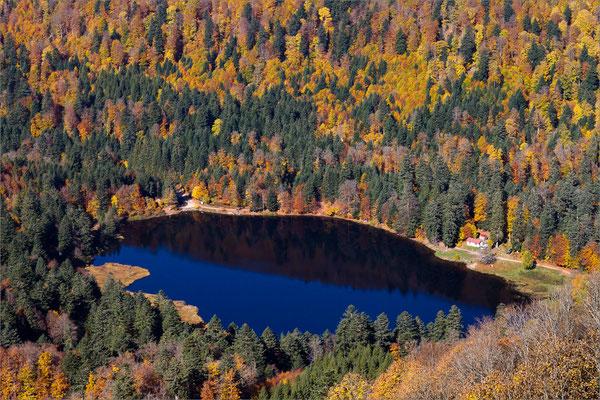 Lac de Blanchemer, Vosges, France