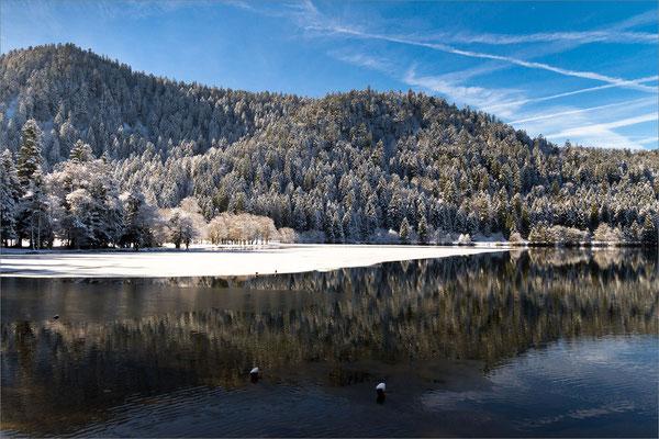 Lac de Longemer, Vosges, France