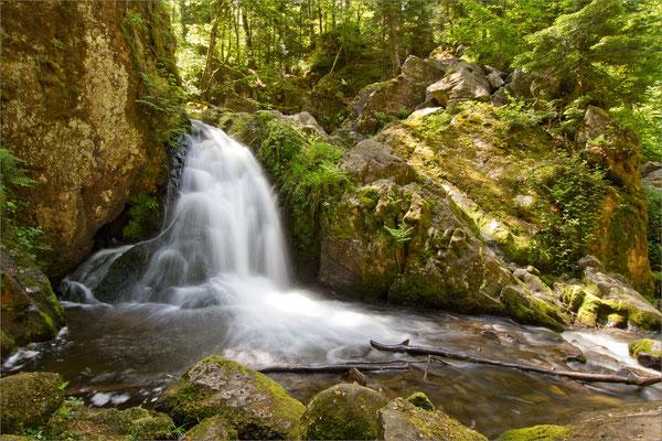 Petite cascade de Tendon, Vosges, France