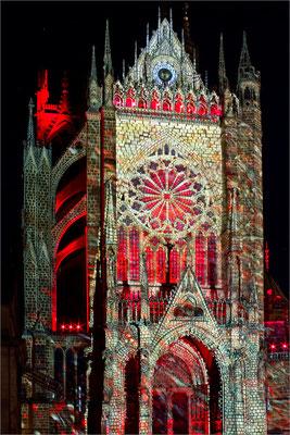 "Mapping ""Alter Lux Animae"" - cathédrale Saint-Etienne, Metz, France"