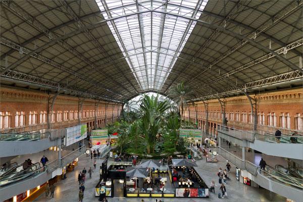 Gare d'Atocha, Madrid, Espagne