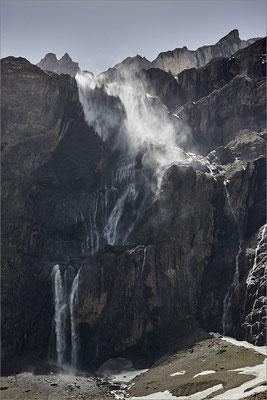 Grande cascade de Gavarnie, Hautes-Pyrénées, France