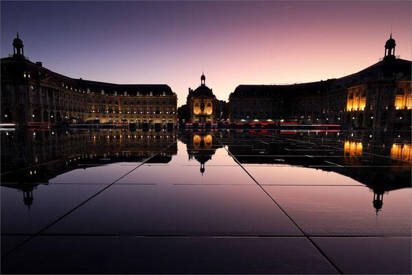 Miroir d'eau, place de la Bourse, Bordeaux, France