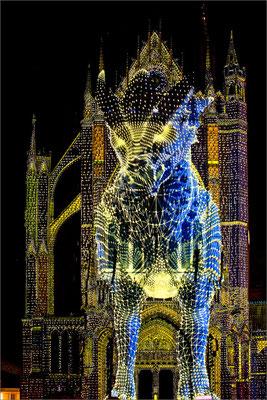 Le Graoully - cathédrale Saint-Etienne, Metz, France