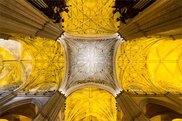 Cathédrale (voûte), Séville, Espagne