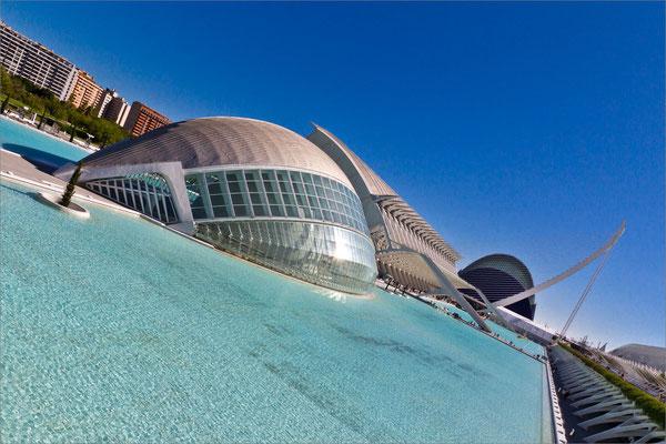 Ciudad de las Artes y las Ciencias, Valence, Espagne