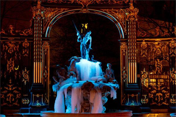 Fontaine de glace - Place Stanislas, Nancy, France