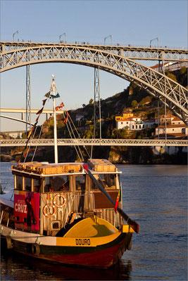 Douro et Ponte Dom Luis I, Porto, Portugal