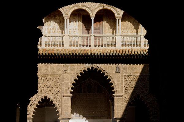 Real Alcazar (Cour des Demoiselles), Séville, Espagne