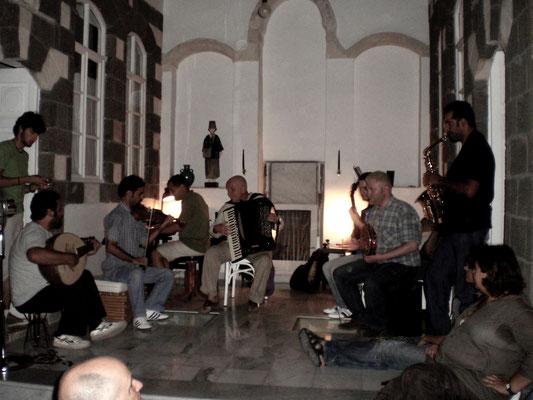 Hauskonzert in Damaskus
