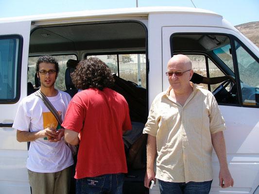 Unterwegs Mit Ahmed Eid und Tareq Rantissi
