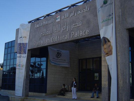 Cultural Palace, Ramallah