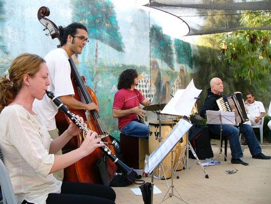 Konzert in Nablus