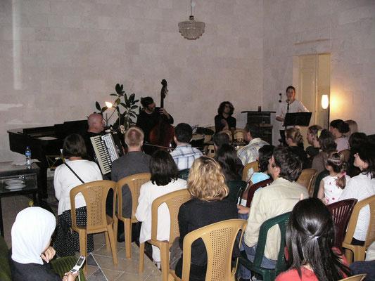 Konzert in Qalqilia