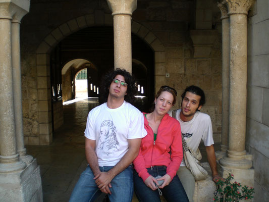 Tareq, Anna und Ahmed