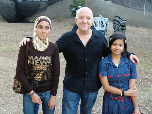 Junge Fans in Nablus