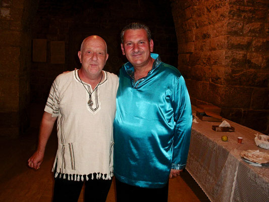 Mit Ibrahim Keivo beim Beiteddine Festival, Libanon