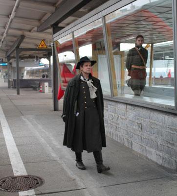 Harry Graf Kessler, Bahnhof Berlin