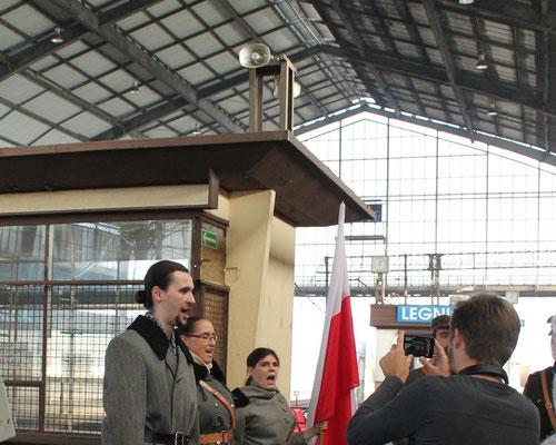 Begrüßung in Legnica