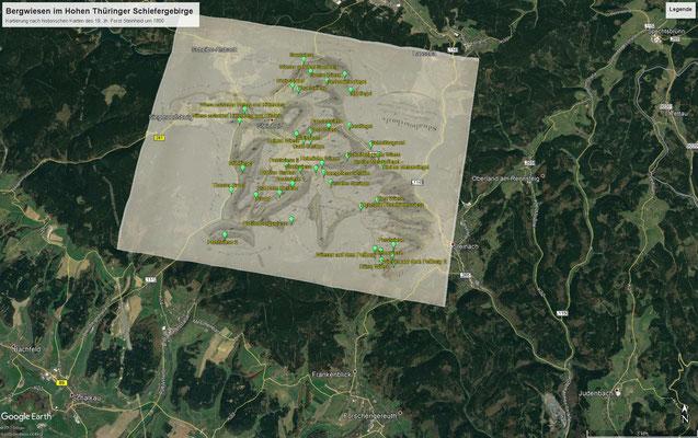 Bergwiesen im Steinheider Forst