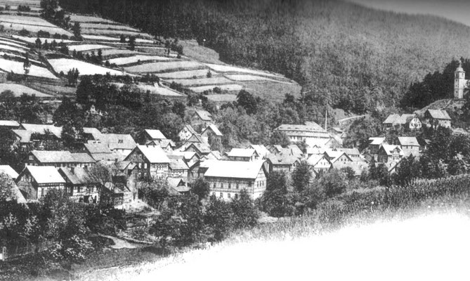 Rauenstein, 1900er