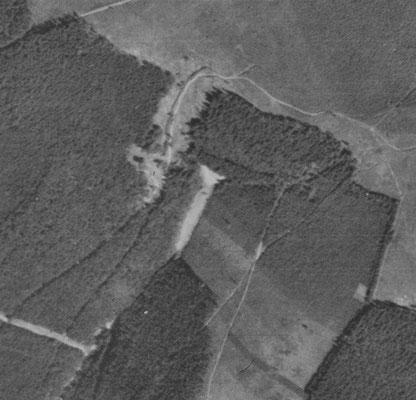 Luftbild, Juli 1945