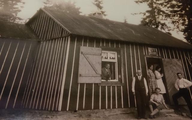Waldhaus Drei Buchen in den 1920er Jahren